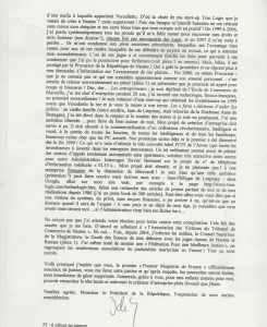 lettre à Sarko2