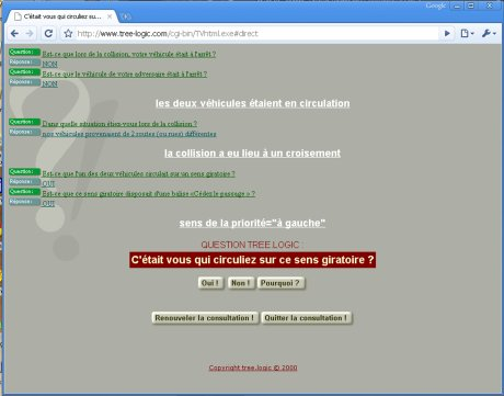 Conversationnel web constat