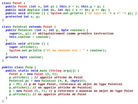 Programme Java
