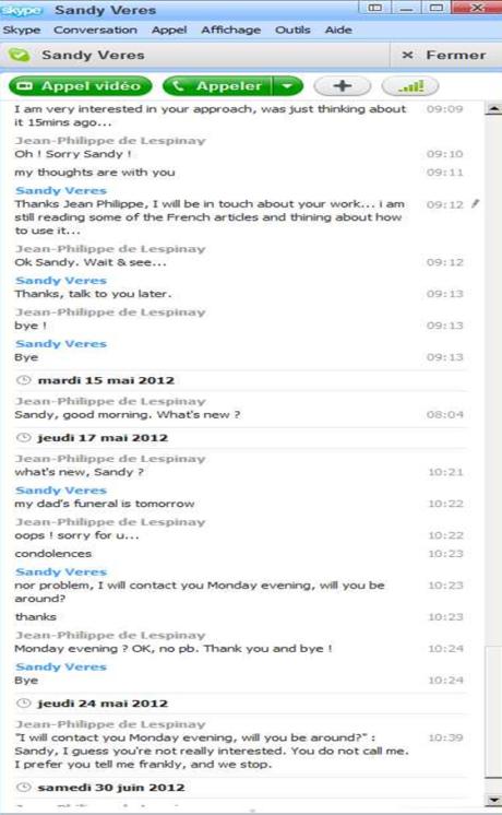 Skype Sandy Veres1
