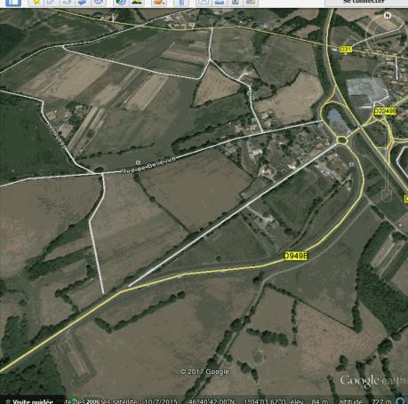Détournement inutile sortie Chantonnay vers Bournezeau